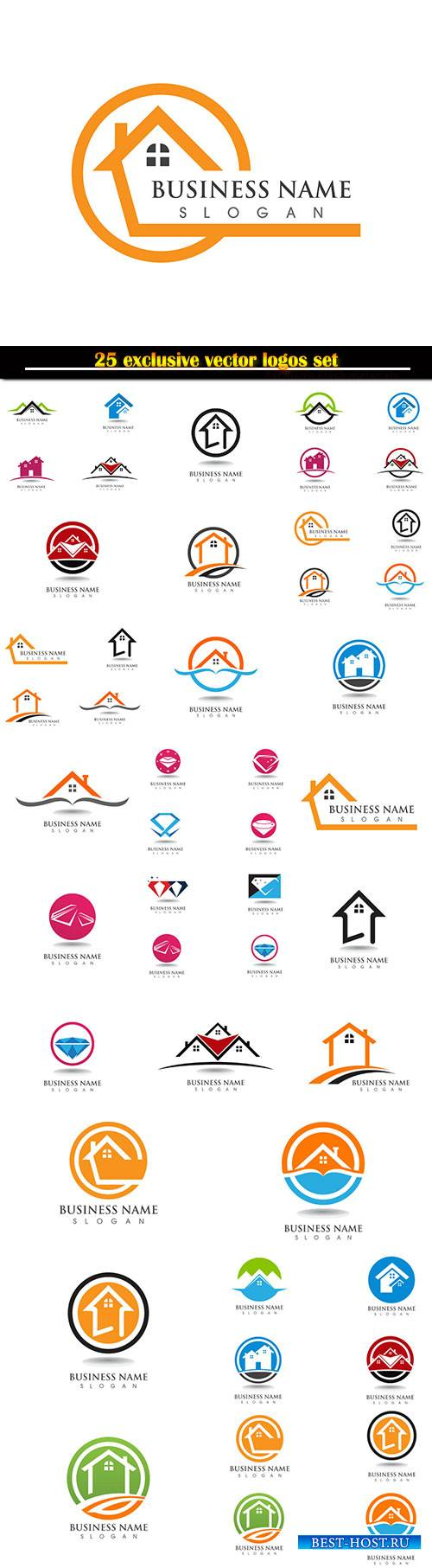 Logo business vector illustration template # 119