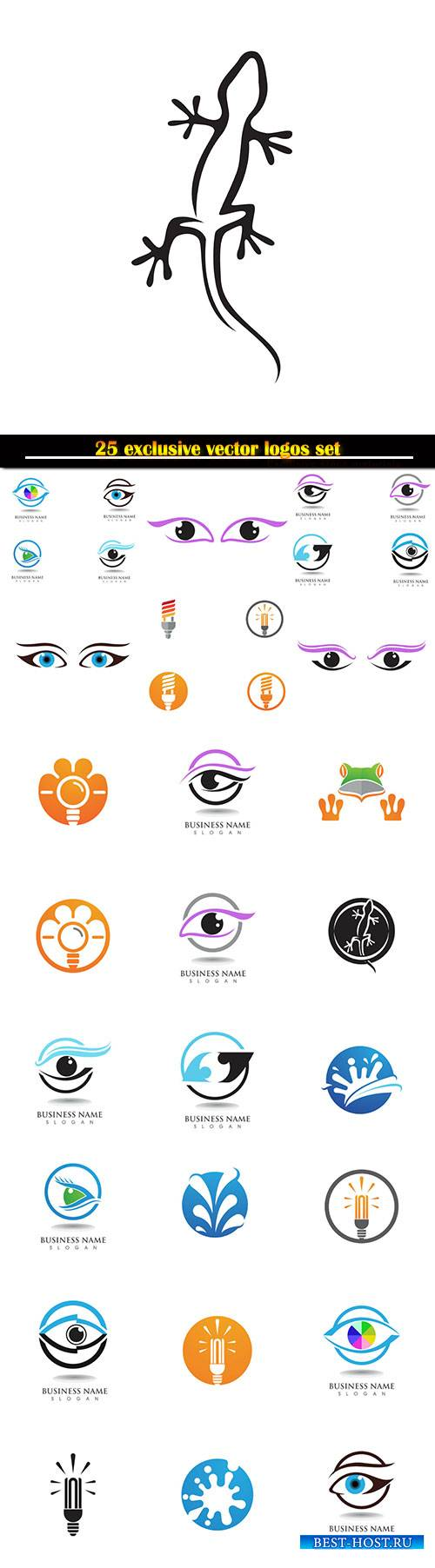Logo business vector illustration template # 126