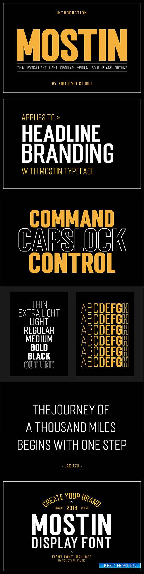 CM - Mostin Typeface 2984340