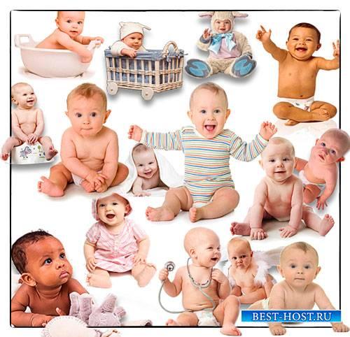 Клипарты картинки - Младенцы