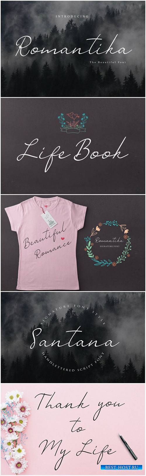 CreativeMarket Romantika Font 2386379