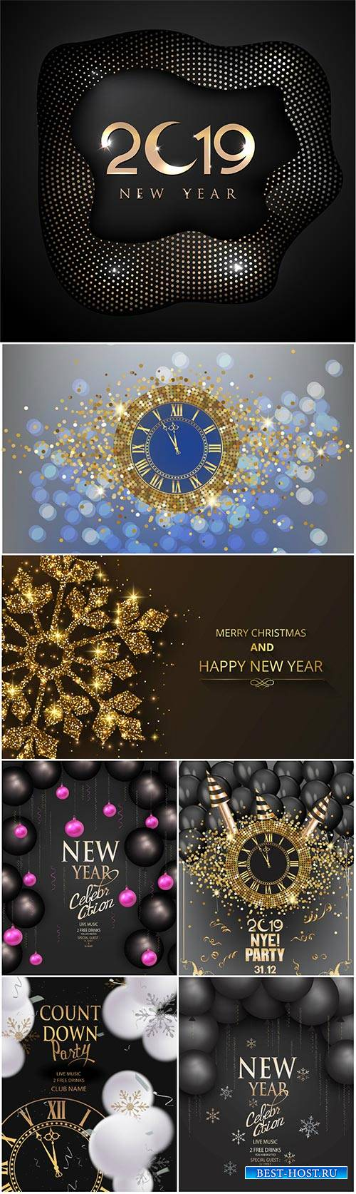 Luxury Christmas background vector 2019