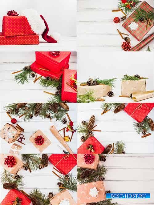 Новогодние фоны - 3 - Растровый клипарт / Christmas backgrounds - 3 - Raste ...