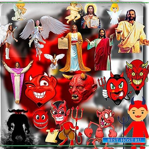 Клипарты png без фона - Демоны и Боги