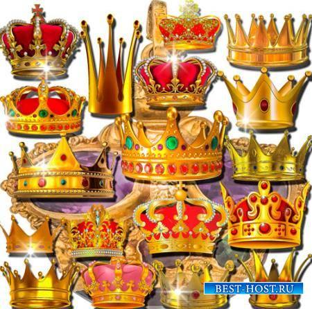 Растровые клипарты - Царские короны