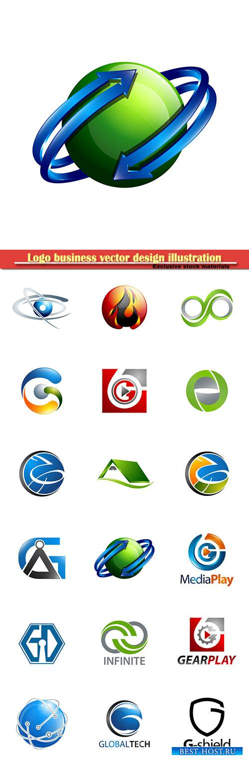 Logo business vector design illustration # 29