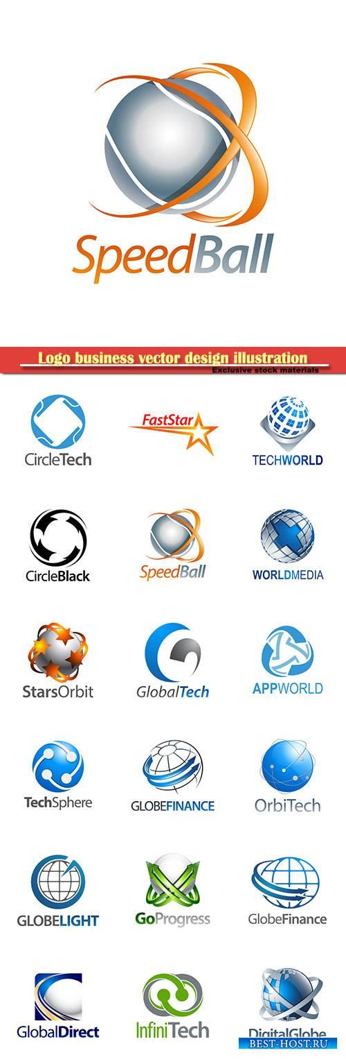 Logo business vector design illustration # 31