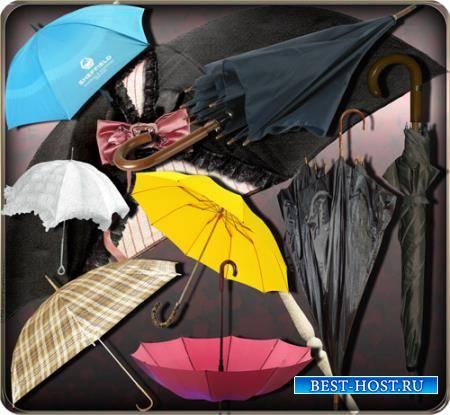 Растровые клипарты - Стилные зонты