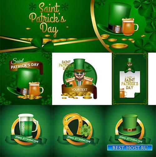 Happy Saint Patricks day - Vector Graphics