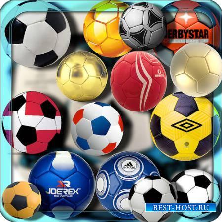 Клипарты для фотошопа - 100 Мячей