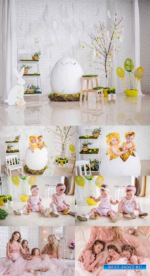 Красивые дети - Растровый клипарт / Beautiful Children - Raster clipart