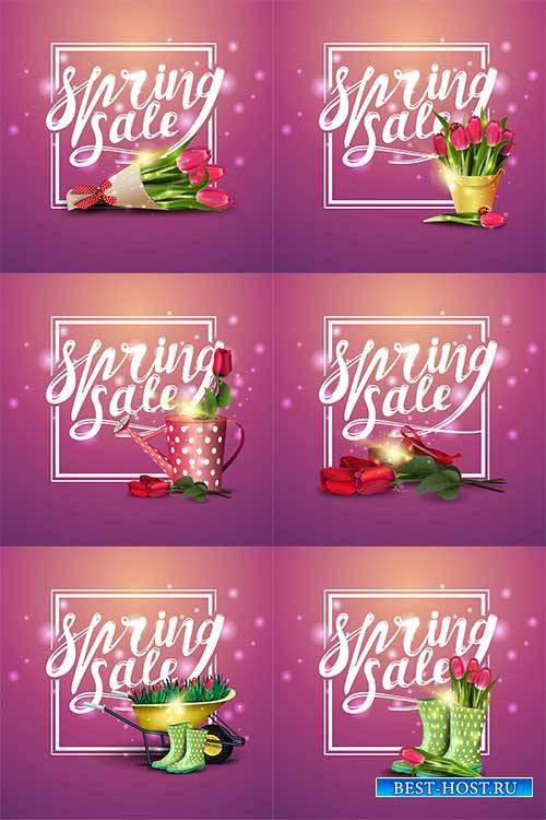 Здравствуй, весна - 11 - Векторный клипарт / Hello Spring - 11 - Vector Gra ...