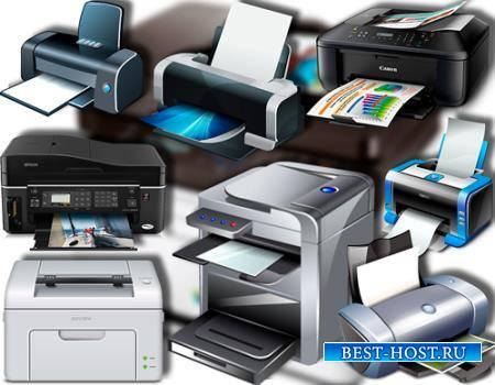 Png клипарты для фоторамки - Печатные принтеры