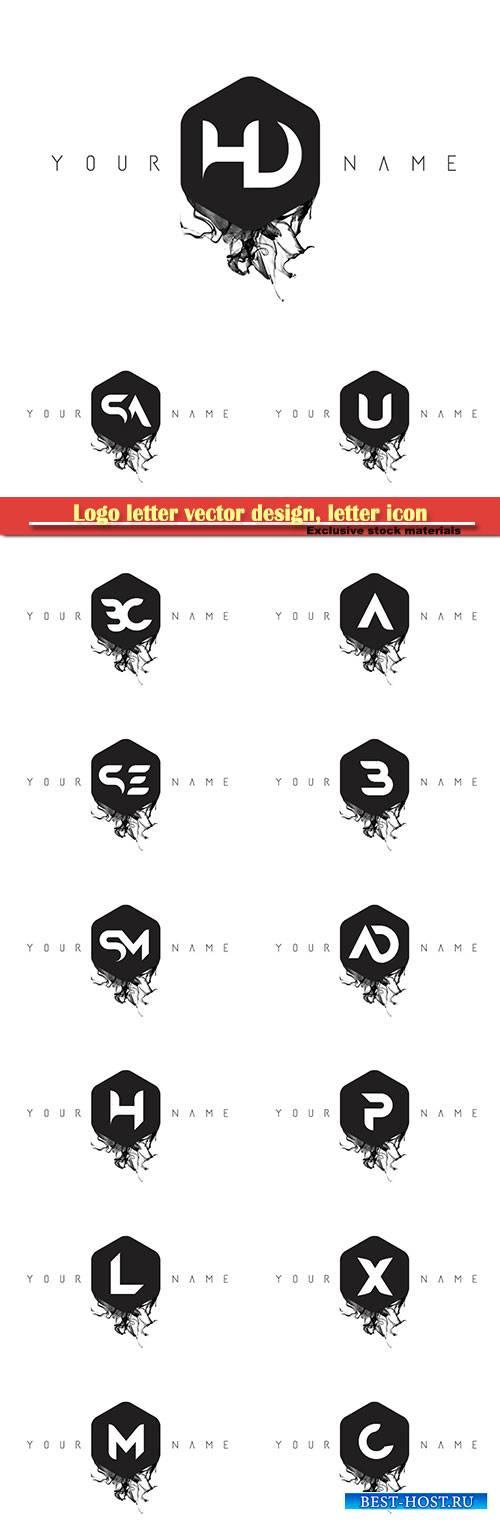 Logo letter vector design, letter icon # 13
