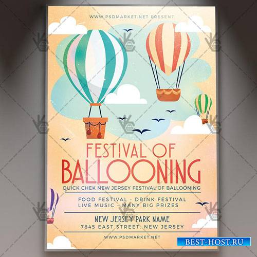 Festival of Ballooning Flyer - PSD Template