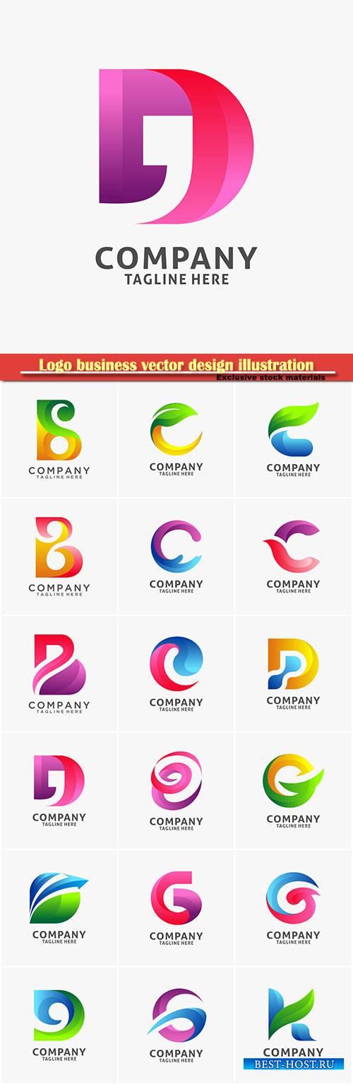 Logo letter vector design, letter icon # 32