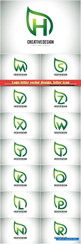 Logo letter vector design, letter icon # 30