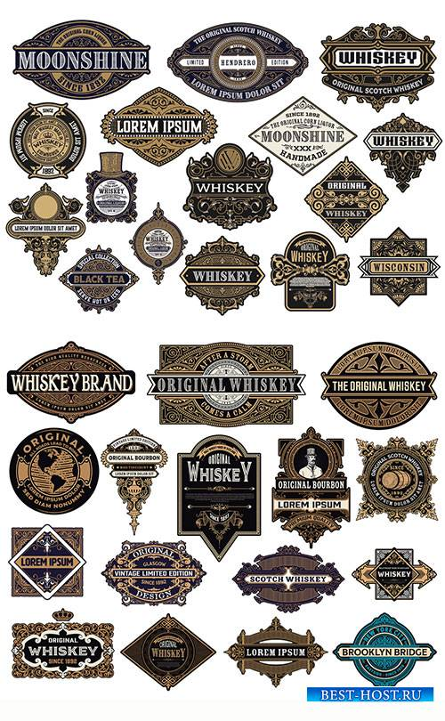 Ornamental Logos and Badges