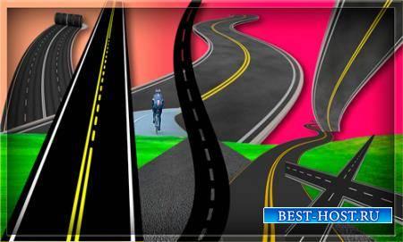 Png прозрачный фон - Асфальтированные дороги