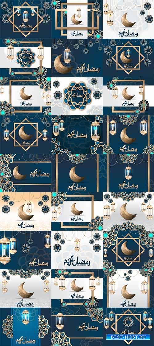 Ramadan kareem background in vector