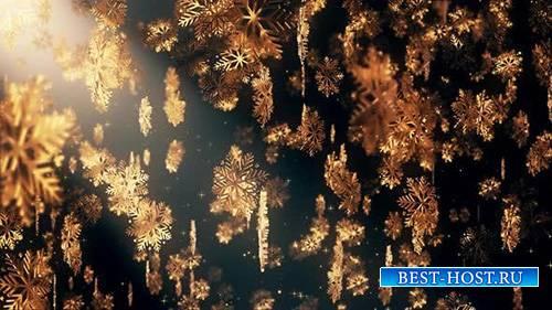 VIDEOHIVE - Christmas Flakes 04 4K - 24923203