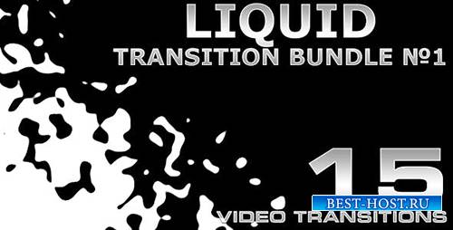Videohive - Liquid Transition Bundle #1 4K - 19809251