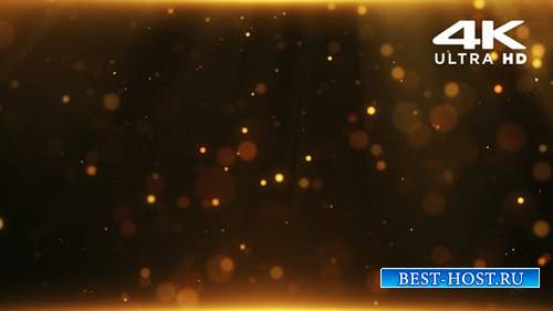 Videohive - Gold Particles - 24999552