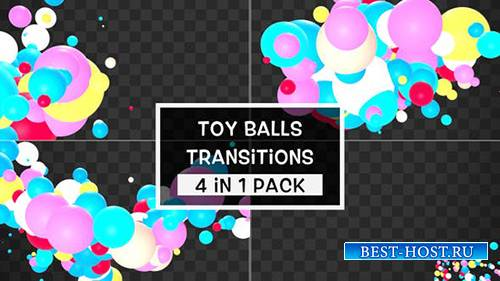 Videohive - Toy Balls Transitions Pack - 25001750
