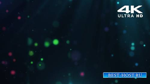 Videohive - Vj Loop Particles - 24999556