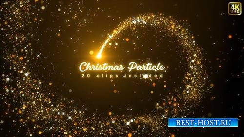 Videohive - Christmas Particles - 24991720