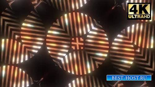 Videohive - 7 Kaleidoscopic Gold Pack - 24863810