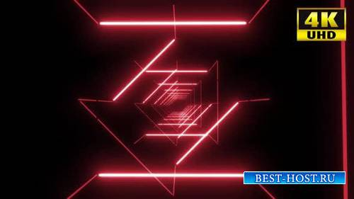 Videohive - 5 Colorful Neon Tunnel Vj Pack - 24432443