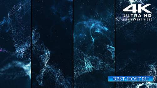 Videohive - Particles Audio Waves - 25023238