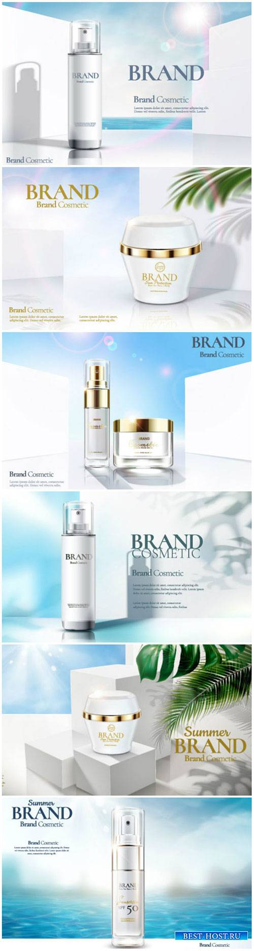 Brand cosmetic design, foundation banner ads # 5