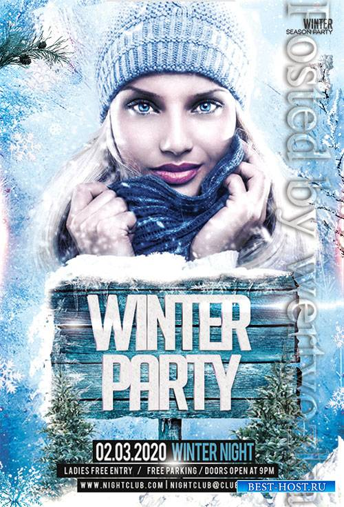 Winter - Premium flyer psd template