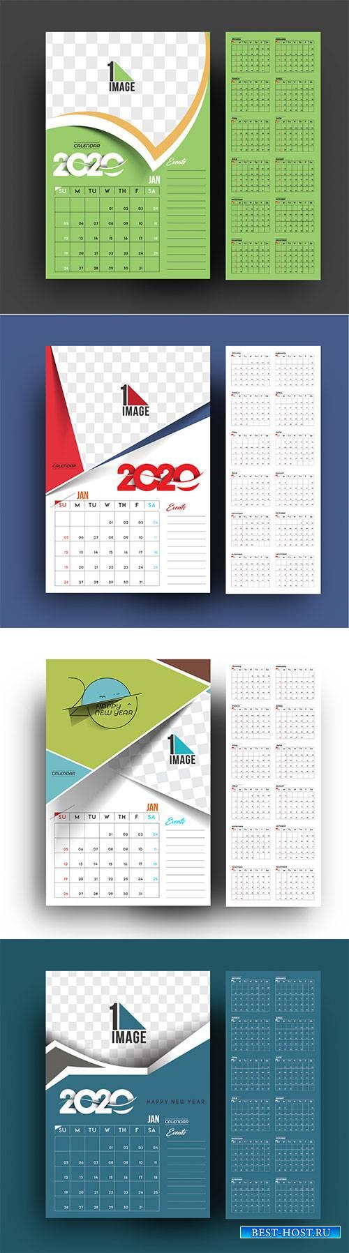 Happy new year 2020 Calendar # 3
