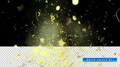 Videohive - Epic Gold Confetti 01 -  25086221