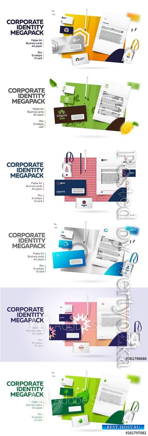 Corporate branding identity design