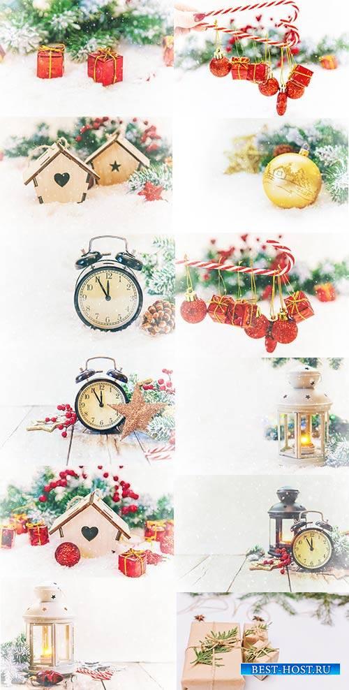 Новогодние картинки 3 - Растровый клипарт / Christmas pictures 3 - Raster G ...