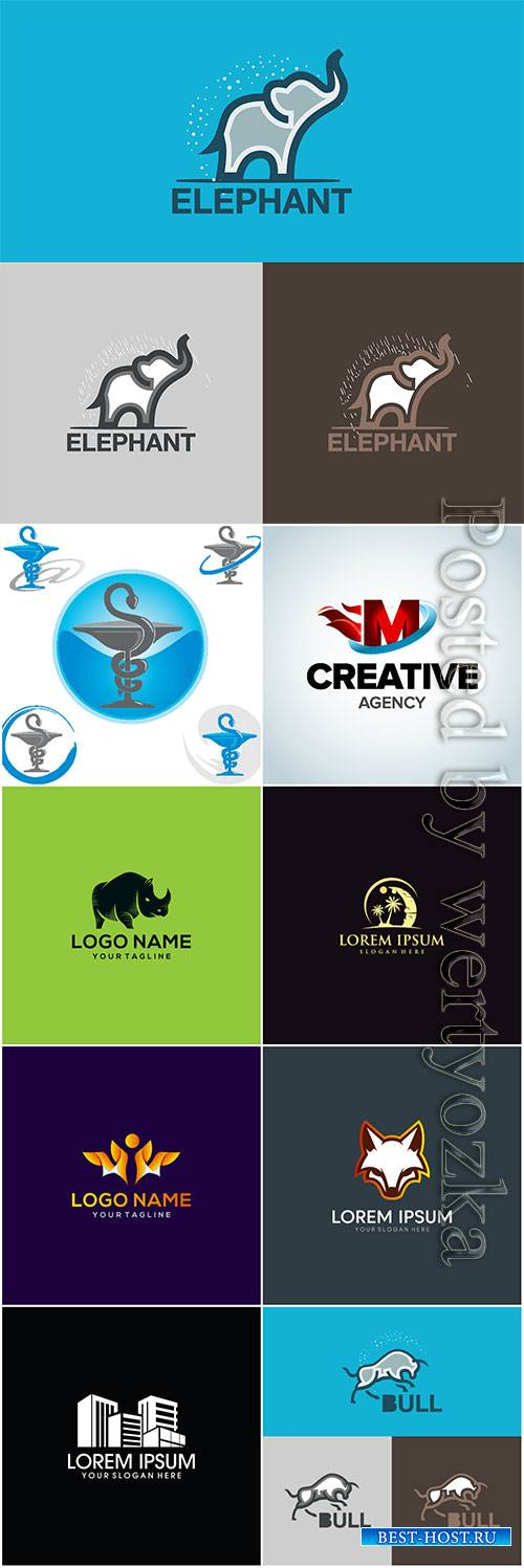 Modern and creative vector logo design