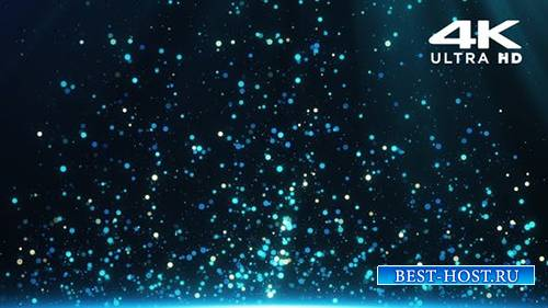 Videohive - Blue Particles - 24999558