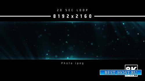 Videohive - Abstract Particles 8K - 24999553