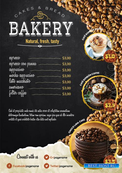 Coffee Shop - Premium flyer psd template