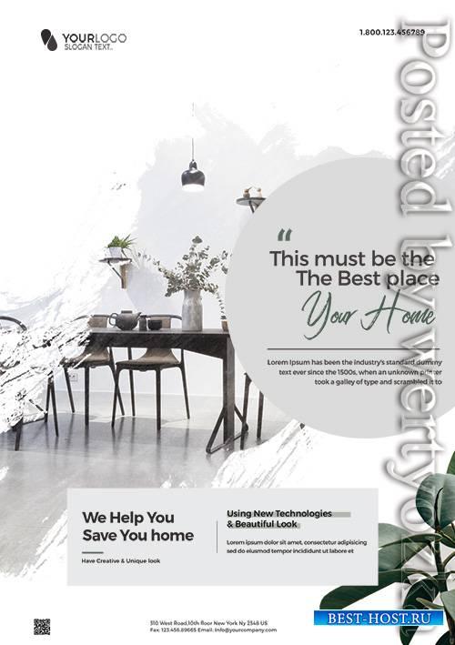 Minimal Interior Promotion - Premium flyer psd template