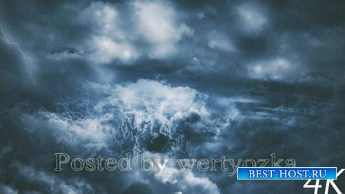 Videohive - Thunder Clouds with Lightning Strikes -  25322434