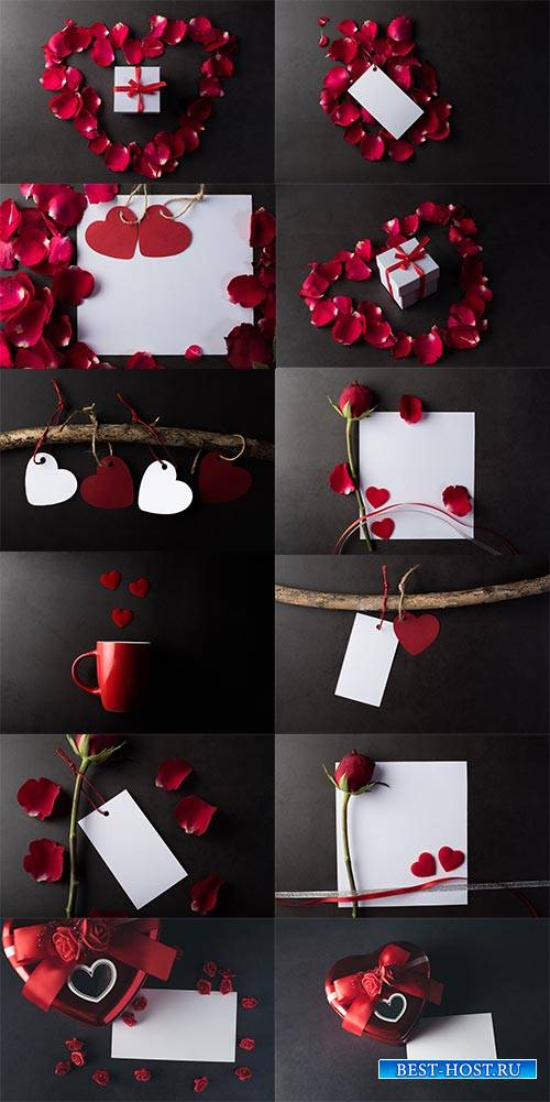 Для влюблённых - Растровый клипарт / For lovers - Raster clipart