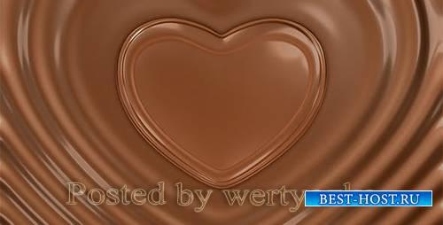 Videohive - Chocolate Valentine Heart -  6785433