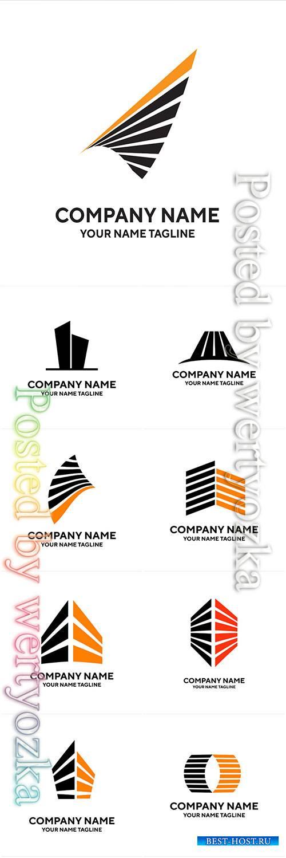 Company name logos vector illustration