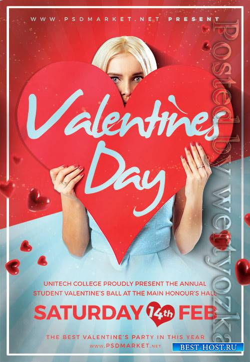 Valentines_day_love_notes - Premium flyer psd template