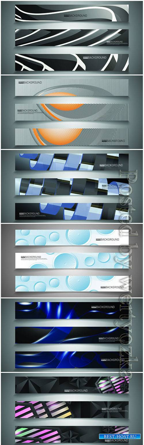 Set banner background for your design
